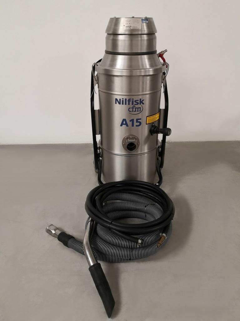 ASPIRATORE AD ARIA COMPRESSA – NILFISK CFM A15 (ASP-41) in vendita - foto 2