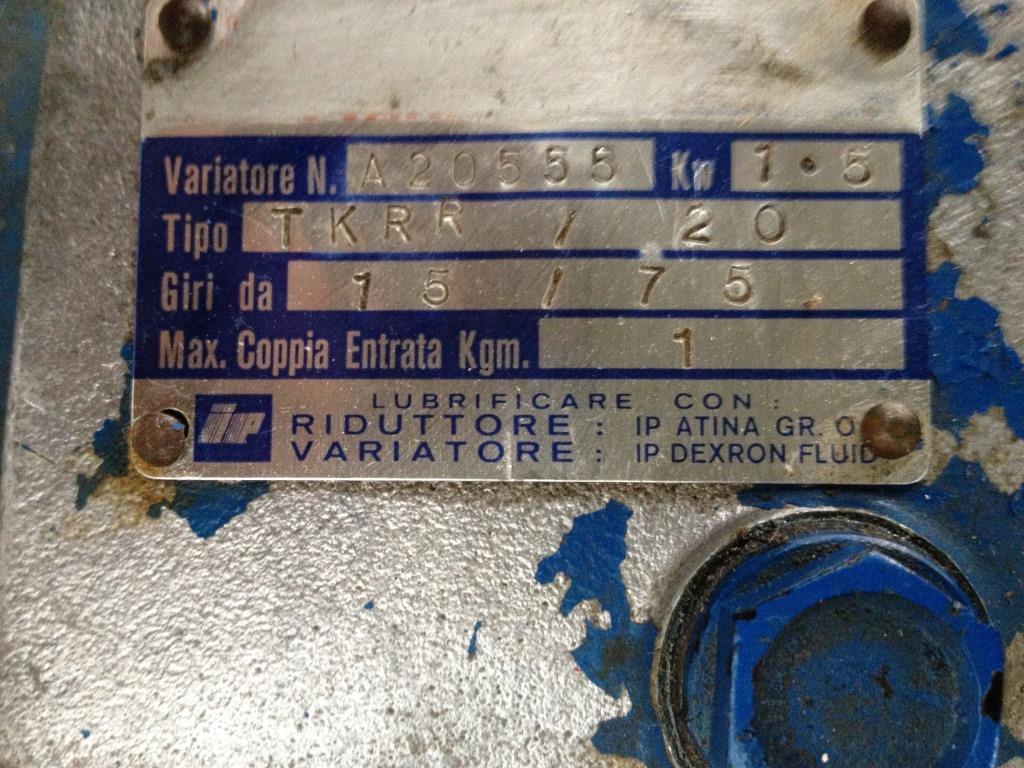 POMPA A LOBI SSP MOD. 400ND (COD. MF-PR-POM-40) in vendita - foto 7