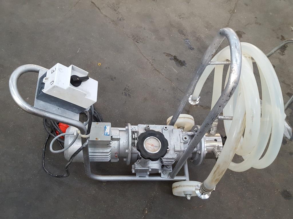 POMPA CARRELLATA - FLENDER-CIGALA (POM-49) in vendita - foto 3