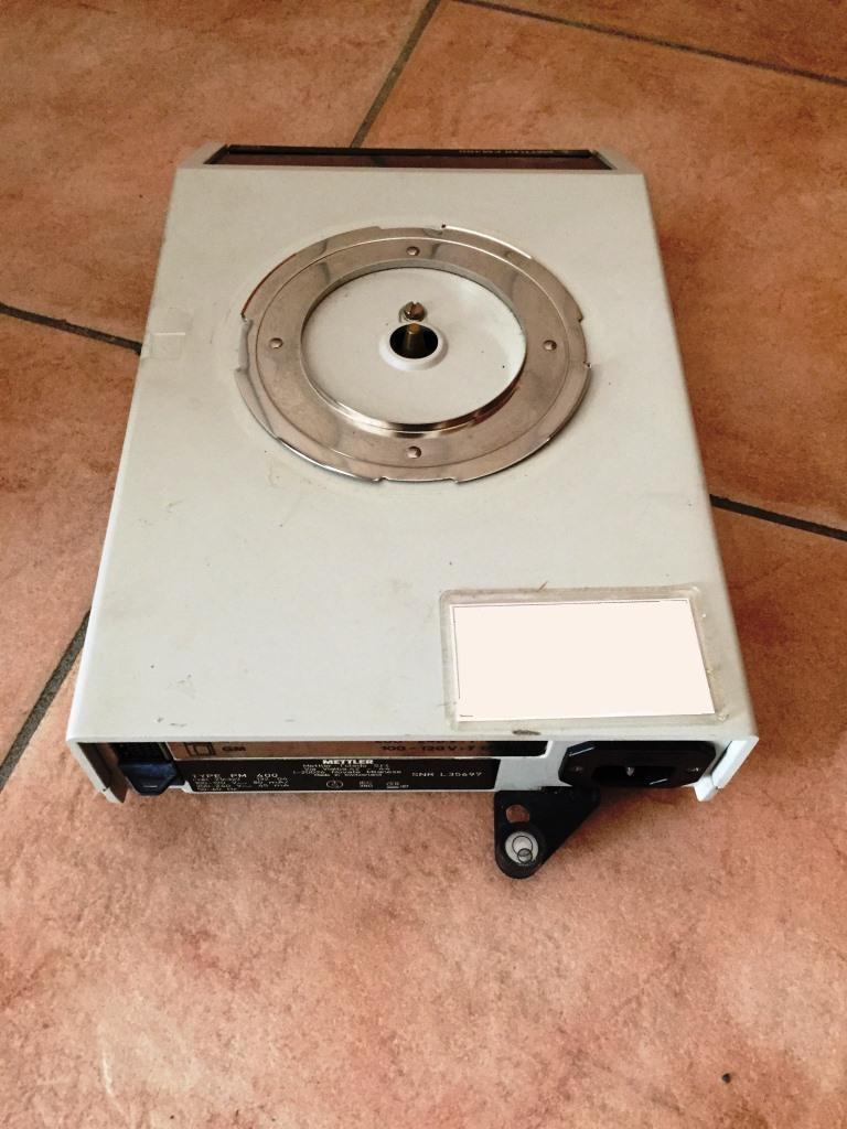 BILANCIA METTLER TOLEDO MOD. PM 400 (COD. LAB-BIL-18) in vendita - foto 4