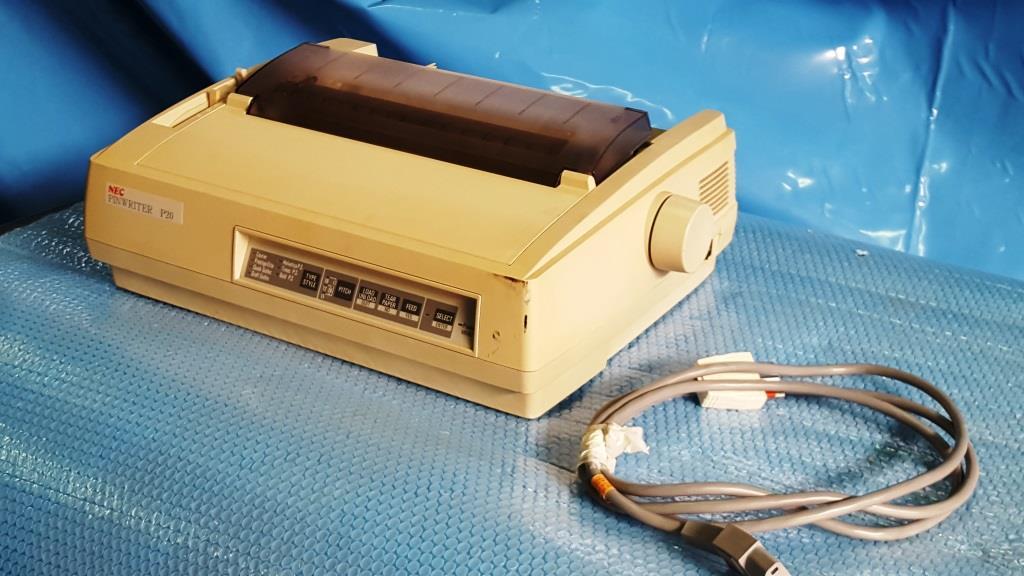 STAMPANTE AD AGHI – NEC – MOD. PINWRITER P20 (STA-19) in vendita - foto 1