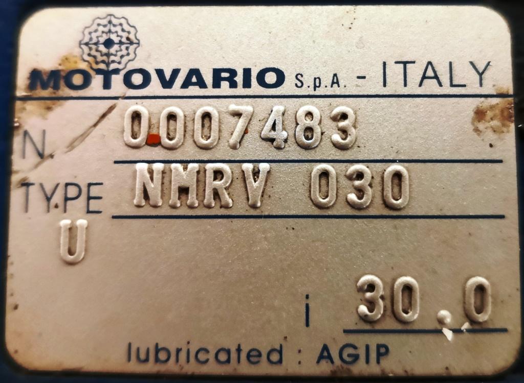 MOTORE CON RIDUTTORE – MOTOVARIO (COD. RIC-MOT-38) in vendita - foto 3
