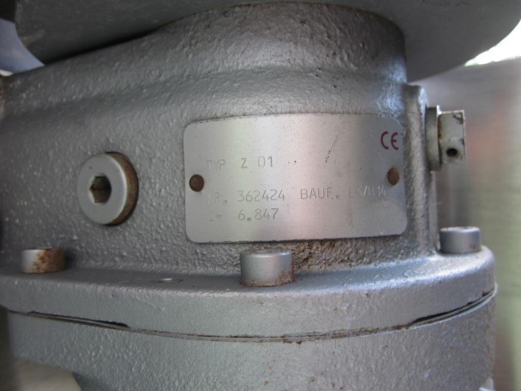POMPA PERISTALTICA CON MOTORE – STAHL (COD.POM-46) in vendita - foto 10