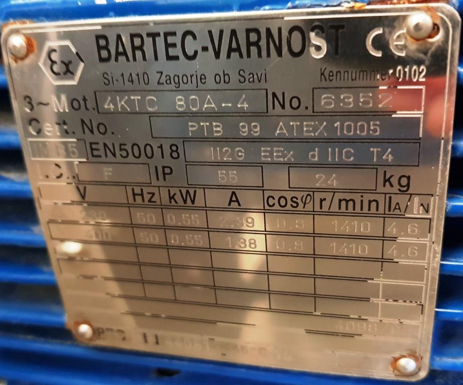 VENTILATORE CENTRIFUGO – SIFAT (COD. MF-PR-VEN-1) in vendita - foto 7
