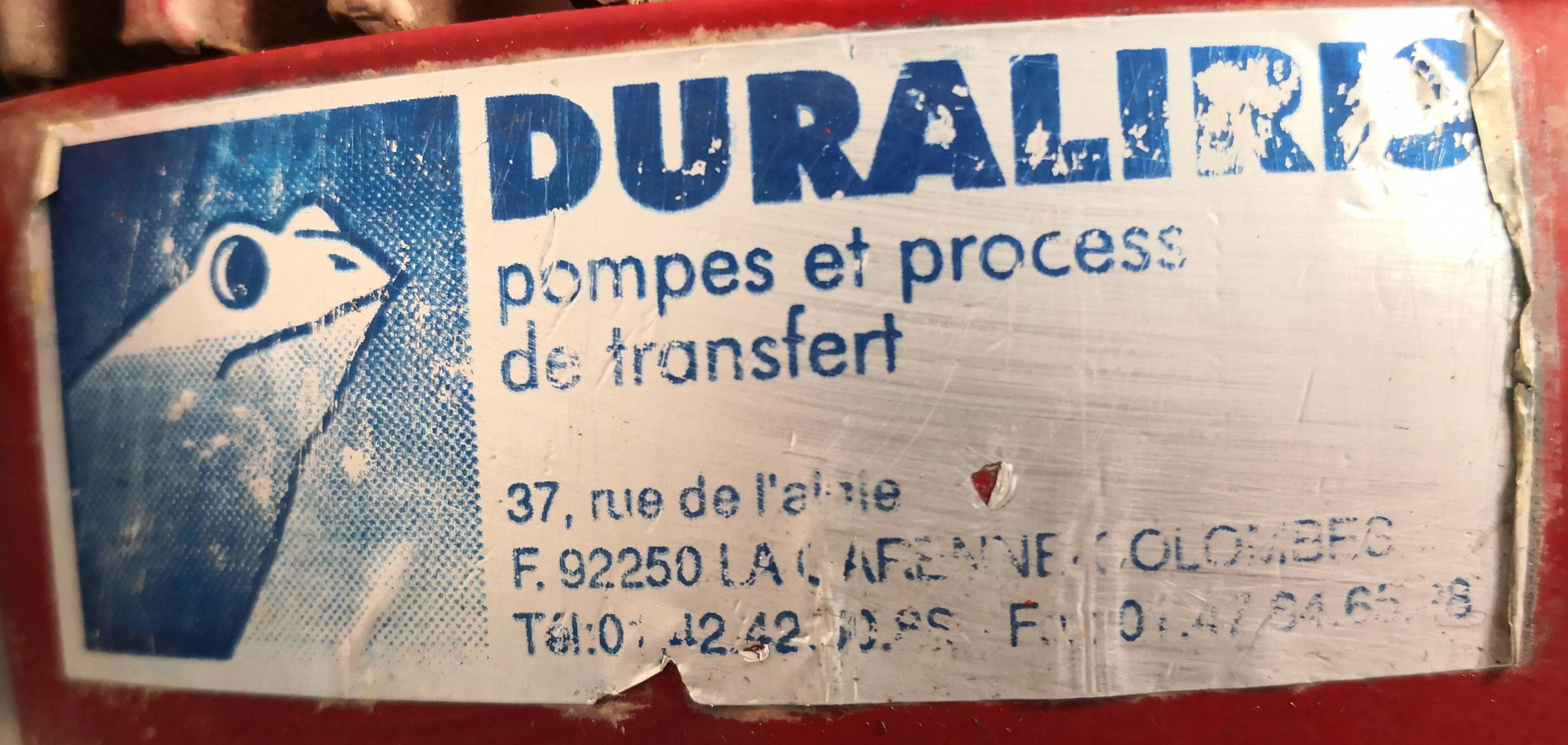 POMPA GIRANTE FLESSIBILE – DURALIRIS – IRFLEX (POM-124) in vendita - foto 7