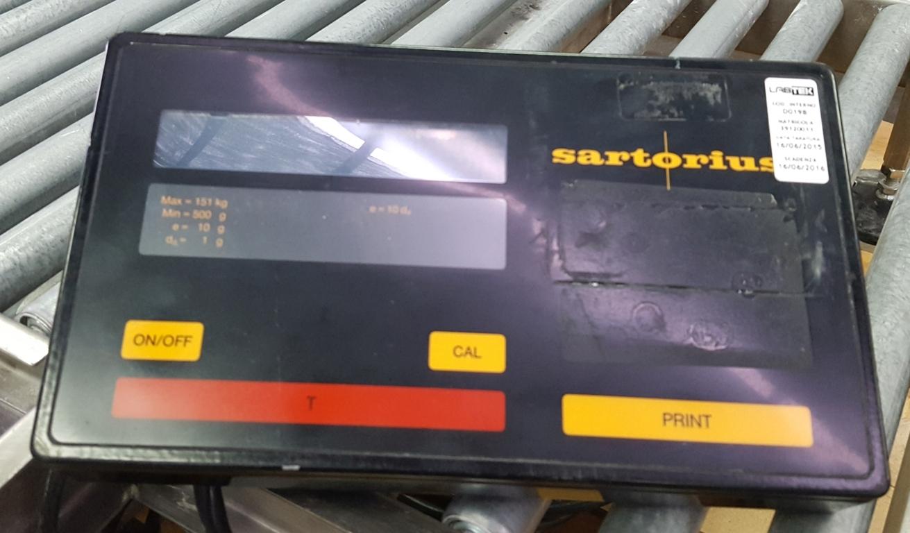 BILANCIA DIGIT CON SIST. RULLIERA – SARTORIUS (BIL-58) in vendita - foto 3
