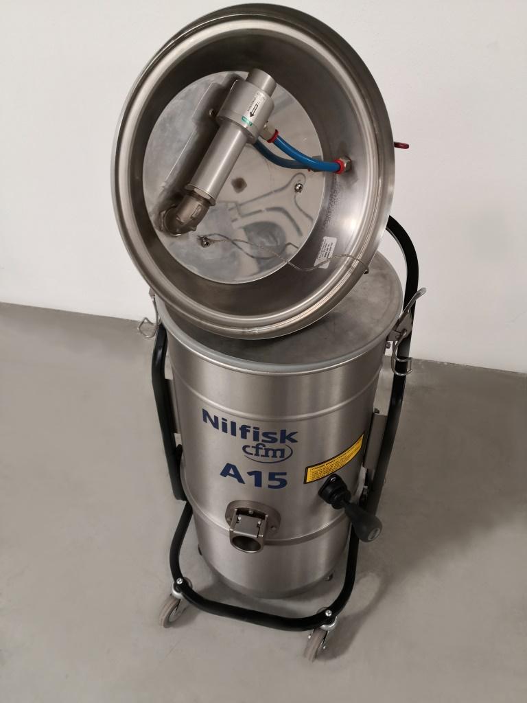 ASPIRATORE AD ARIA COMPRESSA – NILFISK CFM A15 (ASP-41) in vendita - foto 8