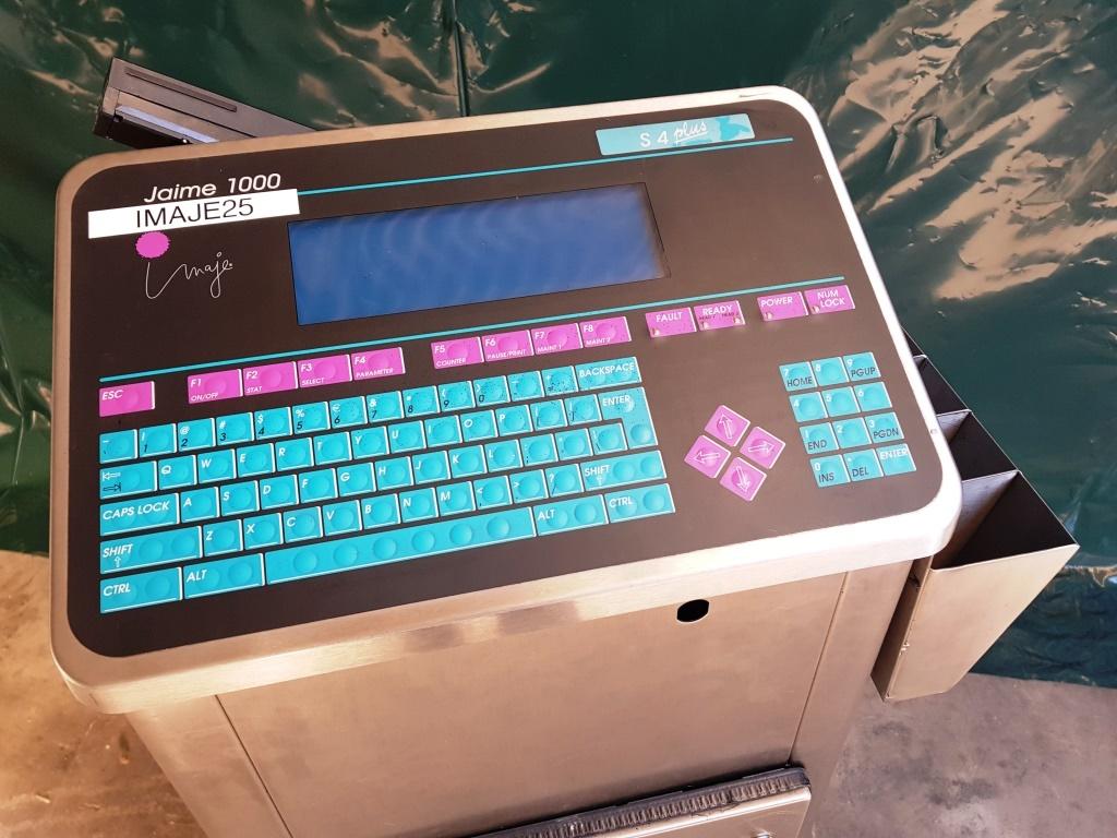 STAMPANTE MARCATORE GETTO ink – IMAJE 1000 S4 (STA-40) in vendita - foto 4