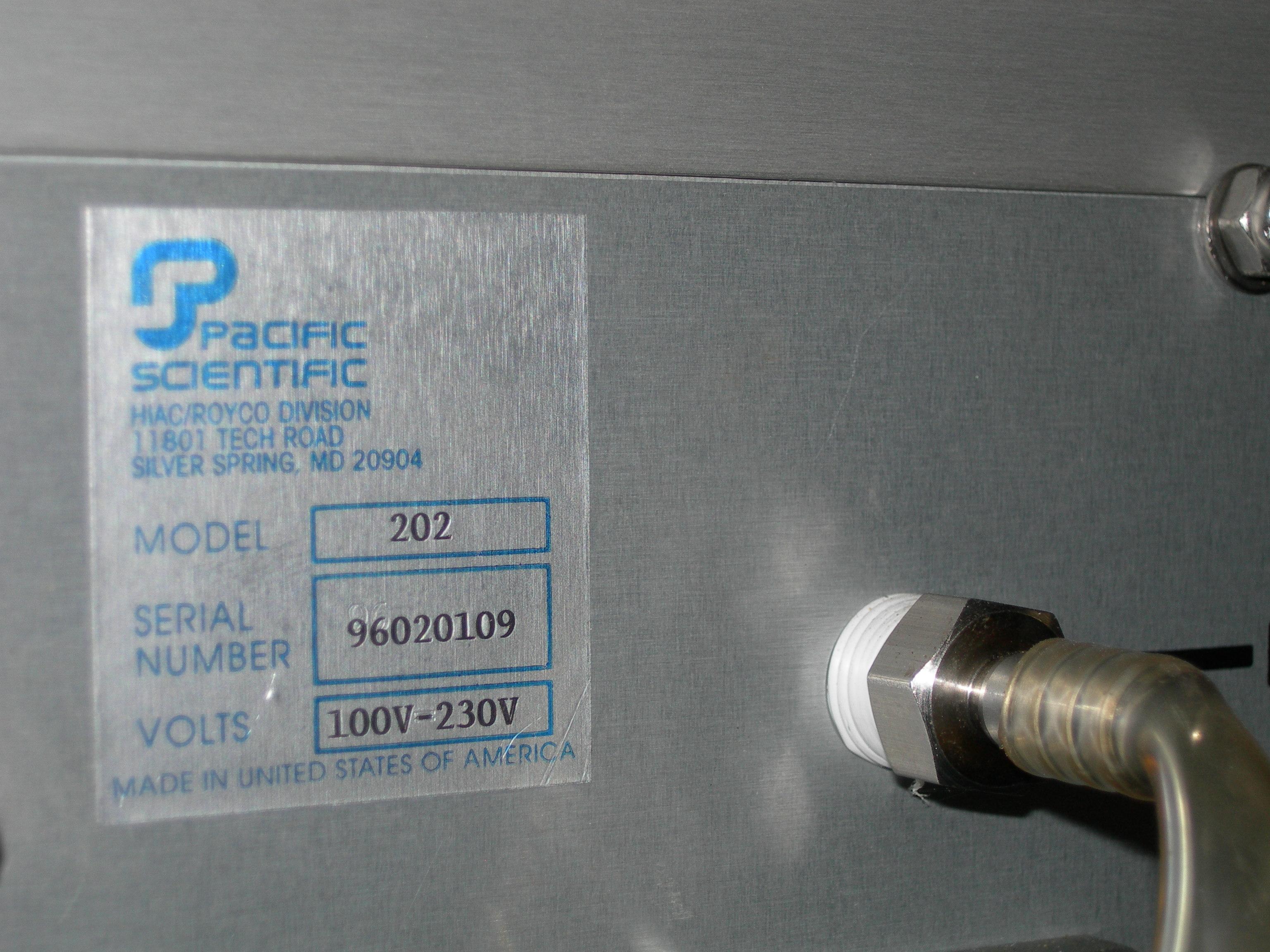POMPA VUOTO RIPARTITRICE – PACIFIC SCIENTIFIC (POM-10) in vendita - foto 3