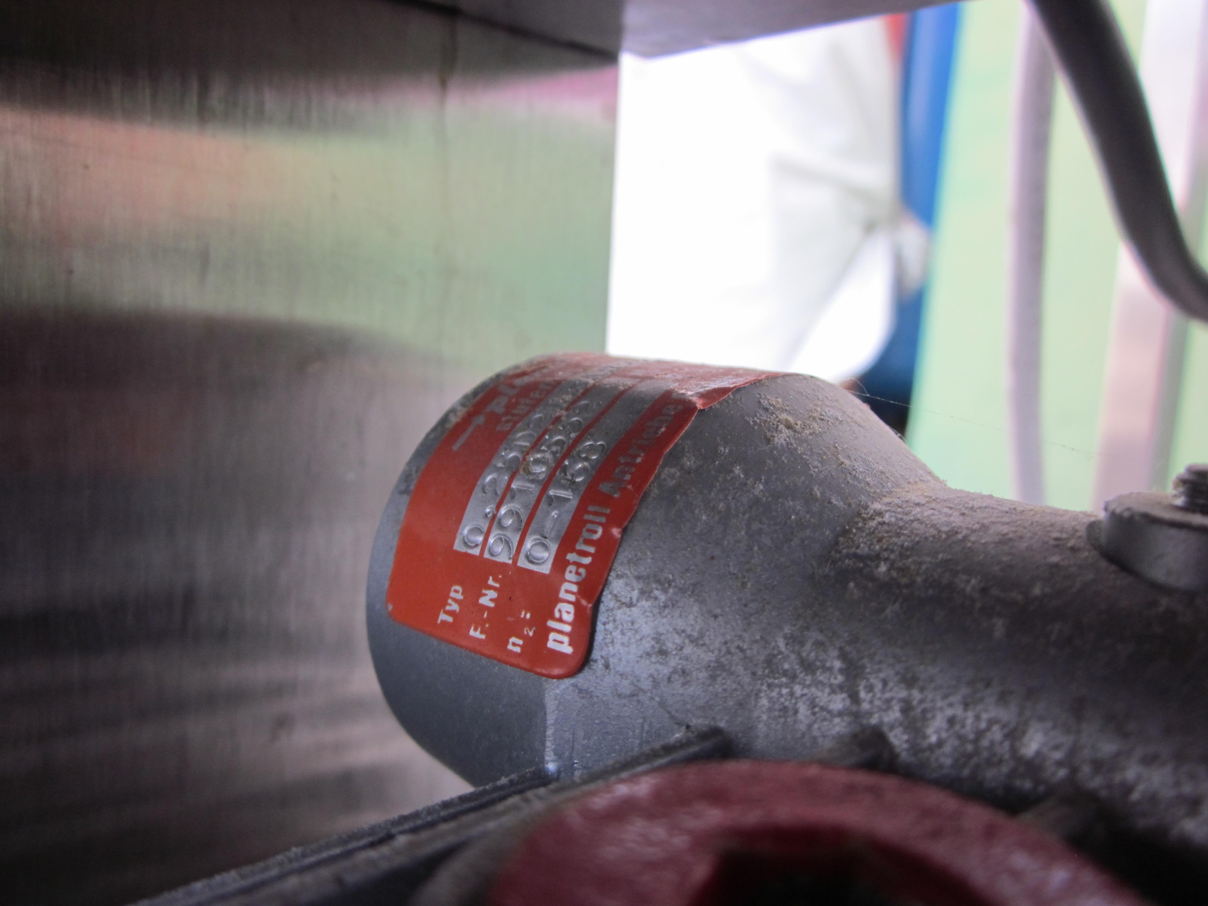POMPA PERISTALTICA CON MOTORE – STAHL (COD.POM-46) in vendita - foto 12