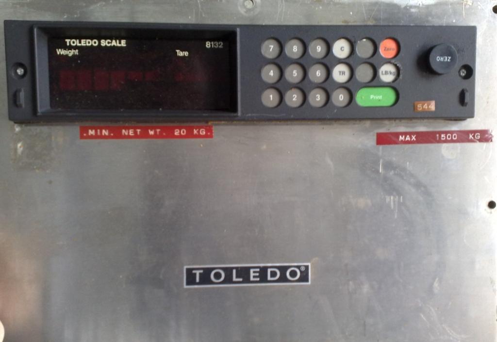 BILANCIA DA PAVIMENTO – TOLEDO – 8132 (BIL-10) in vendita - foto 2