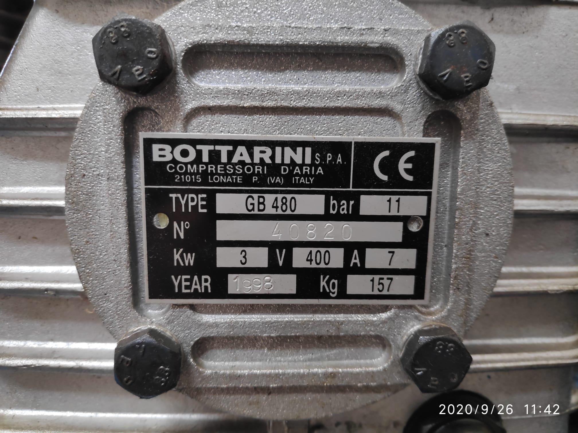 COMPRESSORE BOTTARINI 300LT in vendita - foto 2