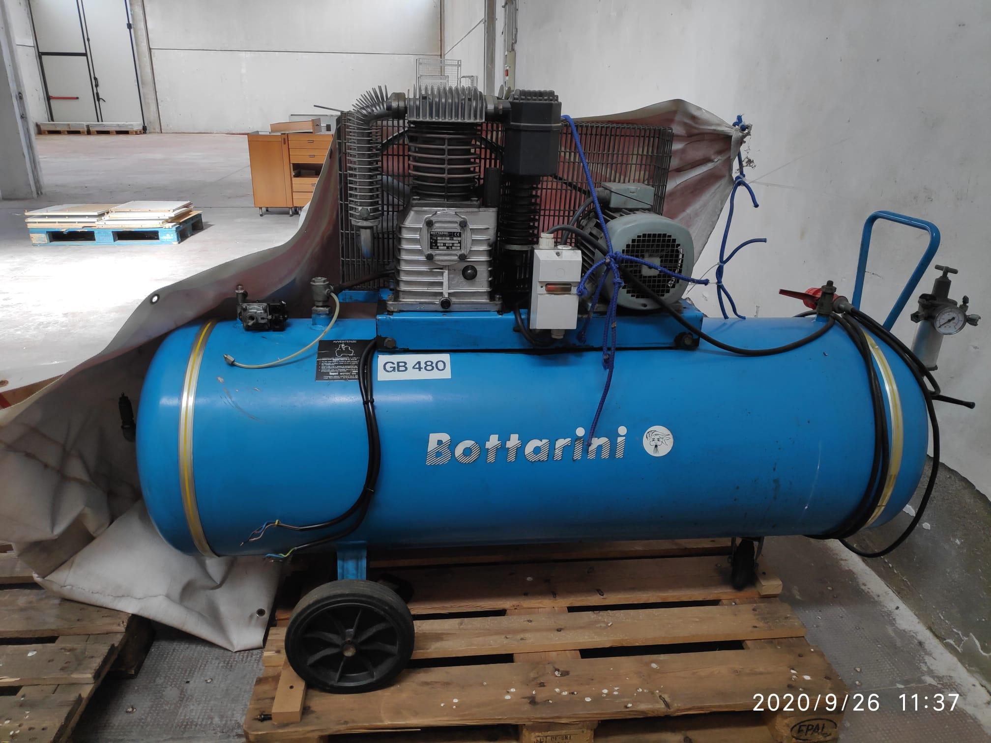 COMPRESSORE BOTTARINI 300LT in vendita - foto 1