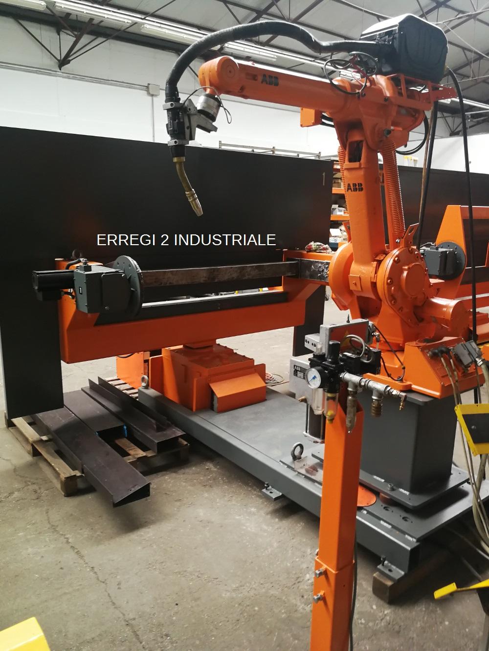 Isola Robot ABB Irb 1400 doppio tornio in vendita - foto 1