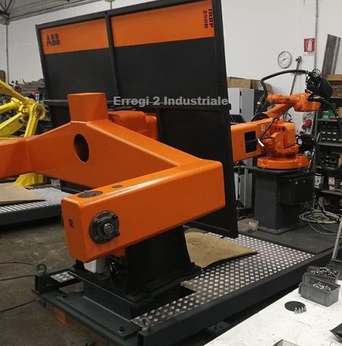 Isola Robot ABB per saldatura mig mag in vendita - foto 3