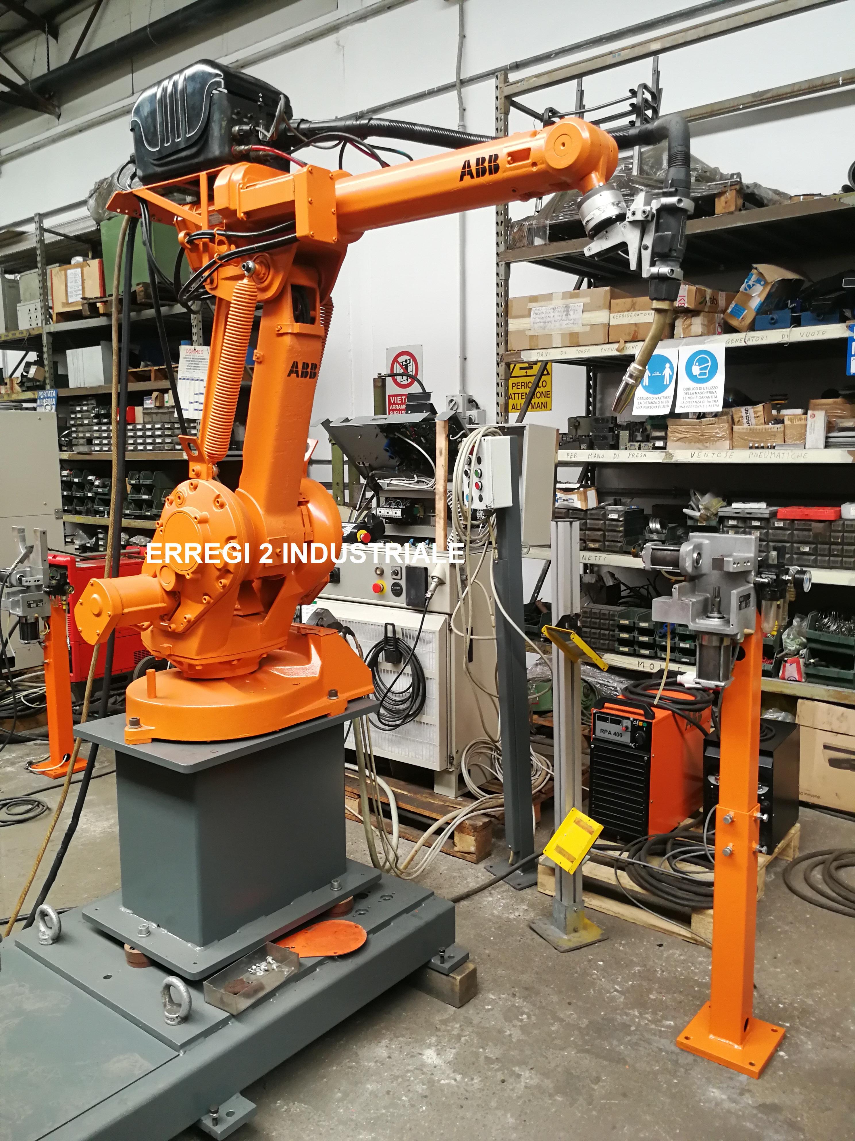 Isola Robot ABB Irb 1400 doppio tornio in vendita - foto 6