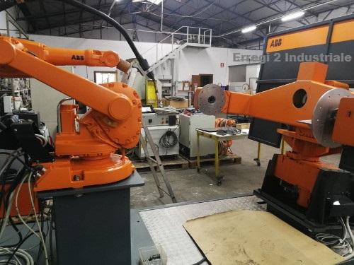 Isola Robot ABB per saldatura mig mag in vendita - foto 4
