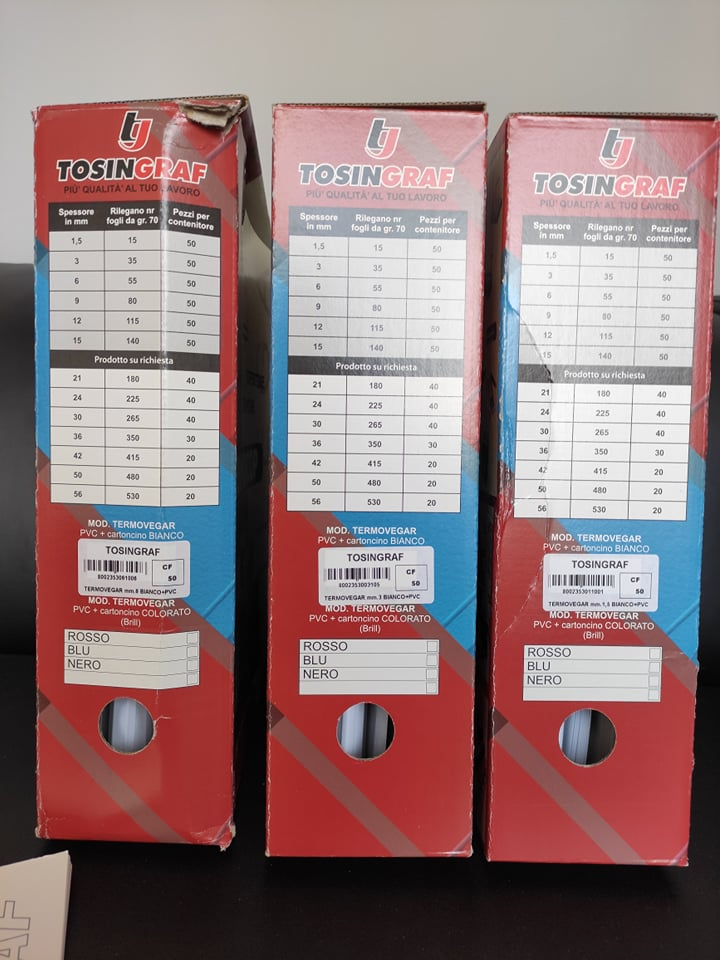 TERMORILEGATRICE professionale TERMOPROF40 Tosingraf in vendita - foto 4