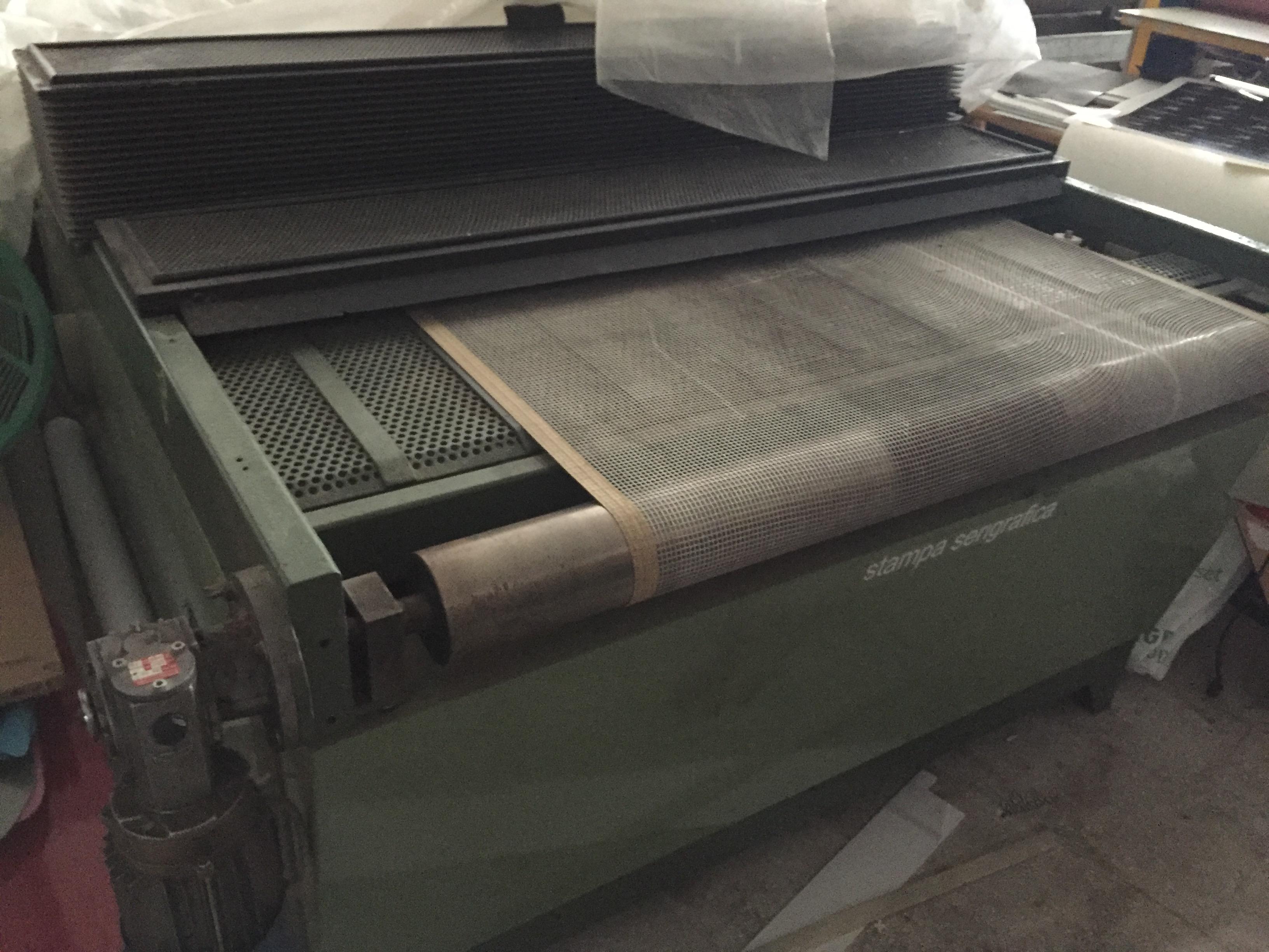 Linea serigrafica semiautomatica con forno UV in vendita - foto 6