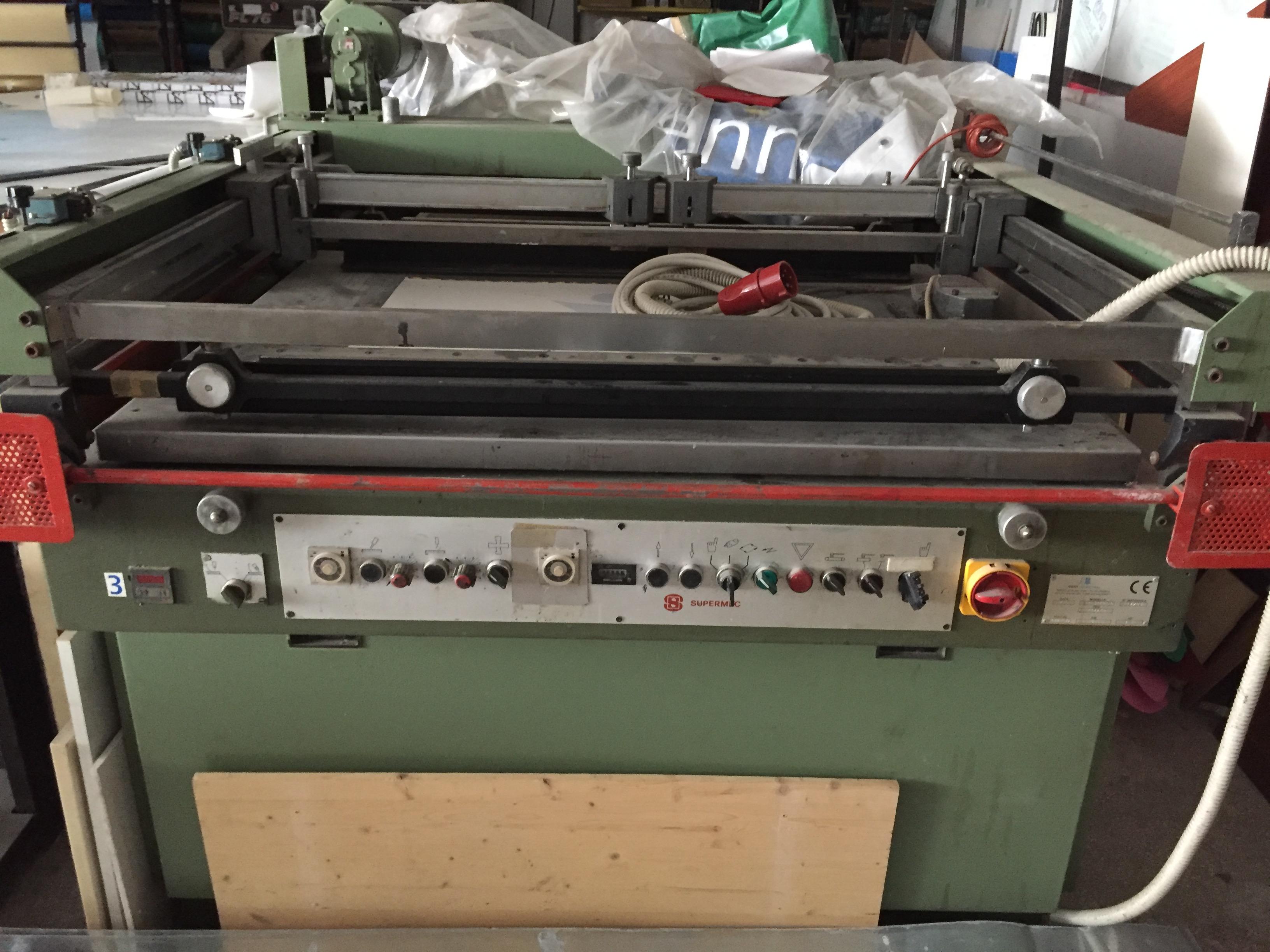 Linea serigrafica semiautomatica con forno UV in vendita - foto 1