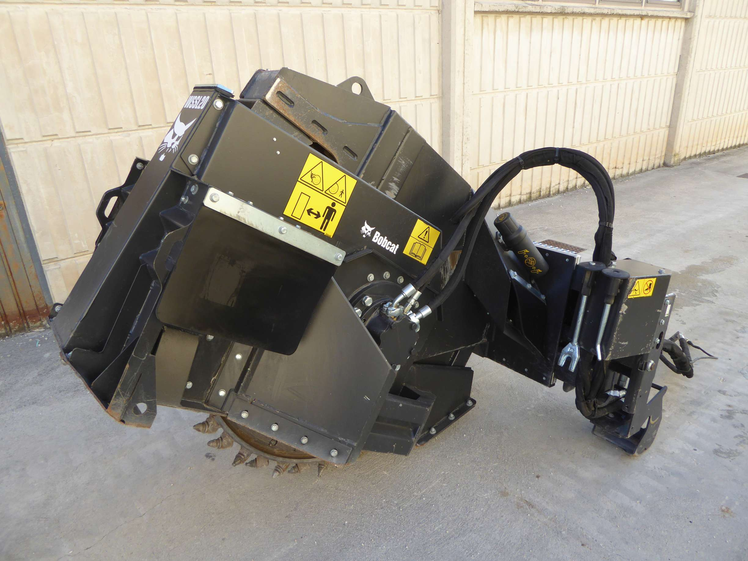 Scavacanali Bobcat WSSL 20 Wheel Saw in vendita - foto 1