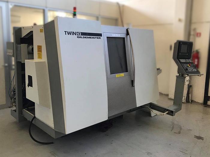 TORNIO CNC USATO GILDEMEISTER – TWIN 42 in vendita - foto 9