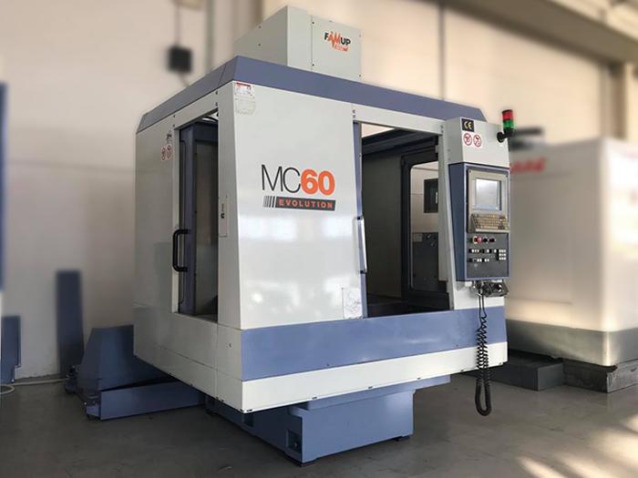 Centro di Lavoro usato FAMUP MC60E in vendita - foto 3