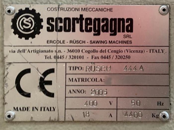 SEGATRICE usata SCORTEGAGNA RUSCH 444 in vendita - foto 5