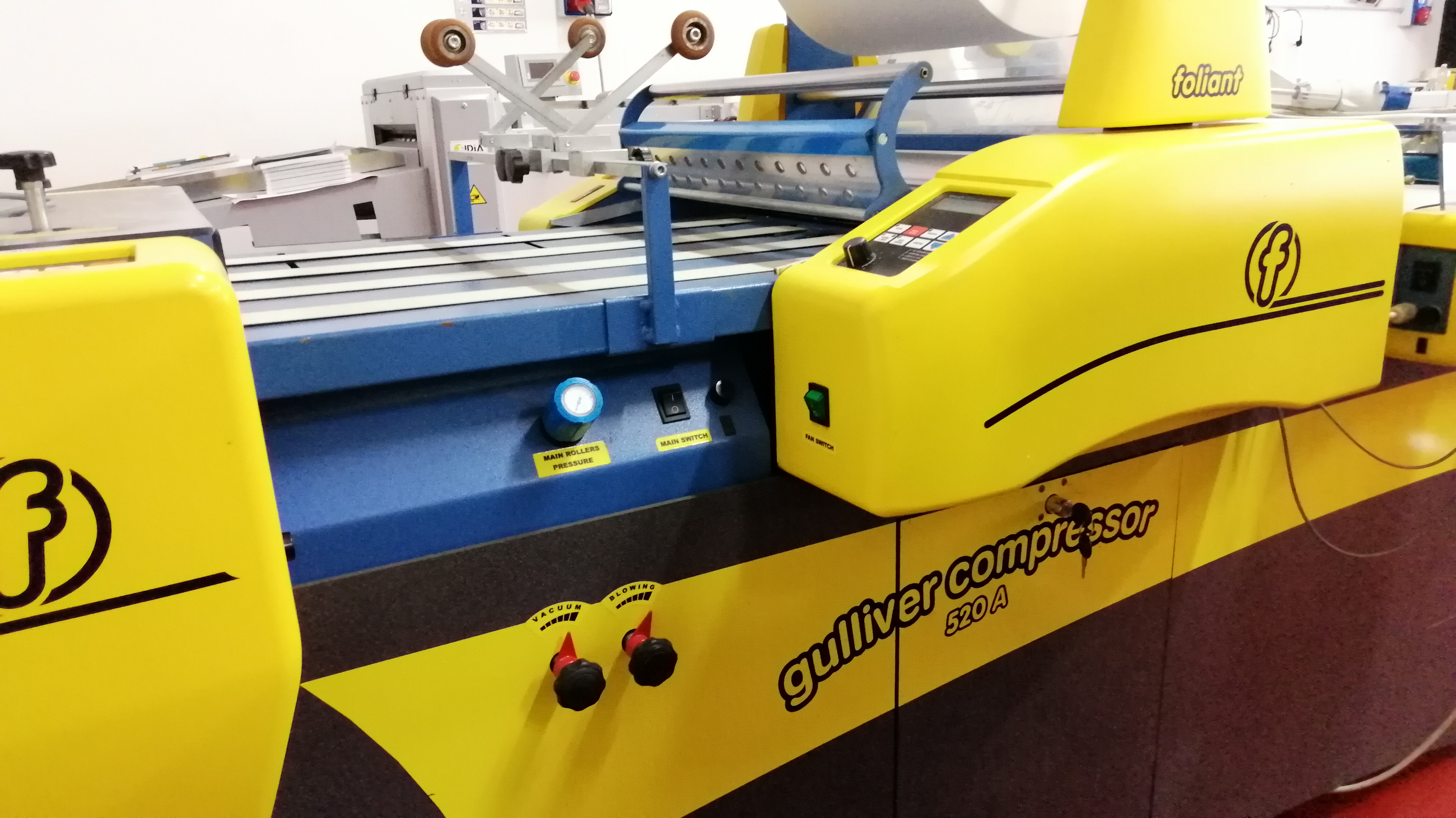 Laminatrice Plastificatrice Foliant Gulliver C520-A in vendita - foto 1