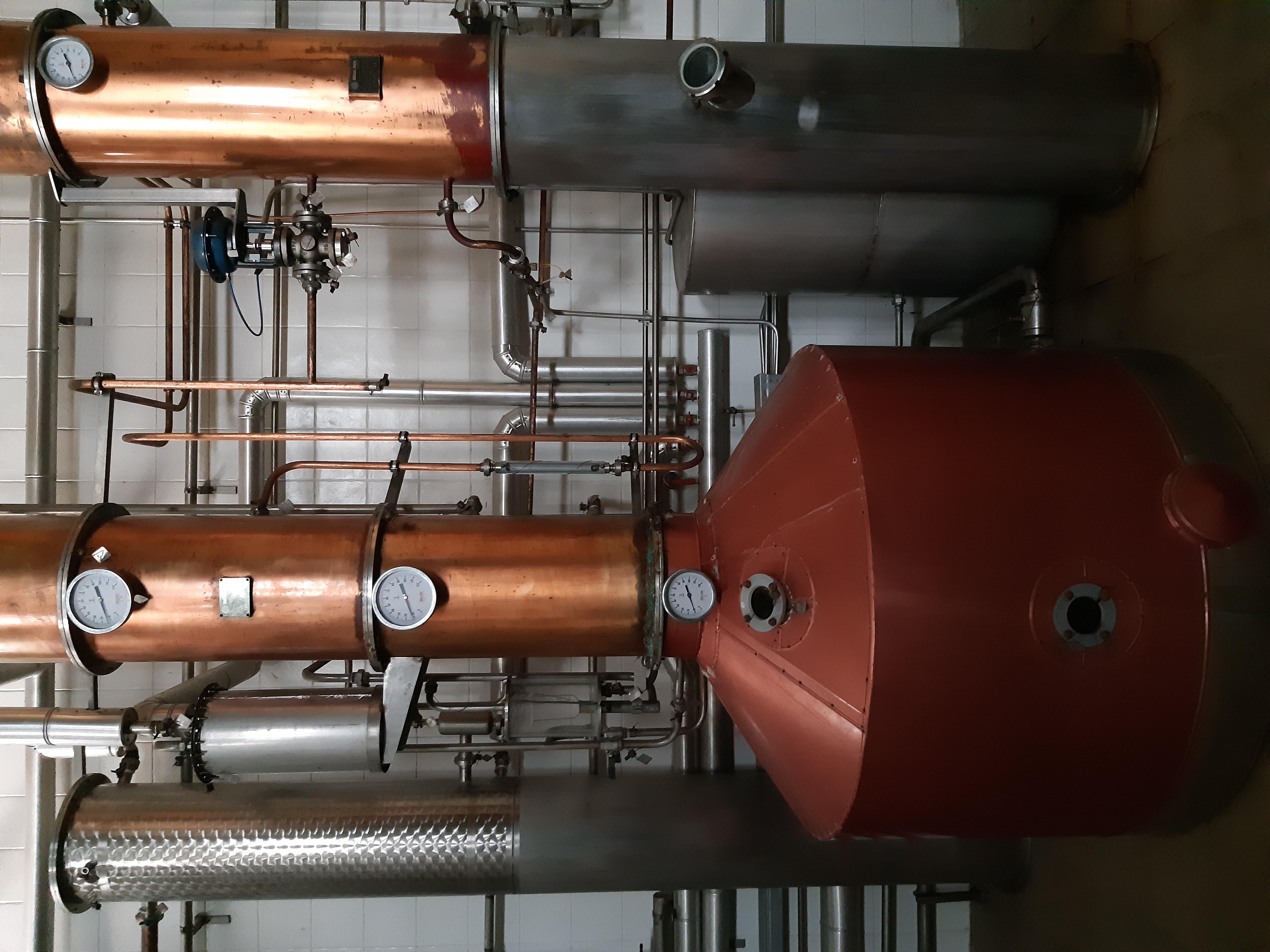 Impianto di distillazione in vendita - foto 2