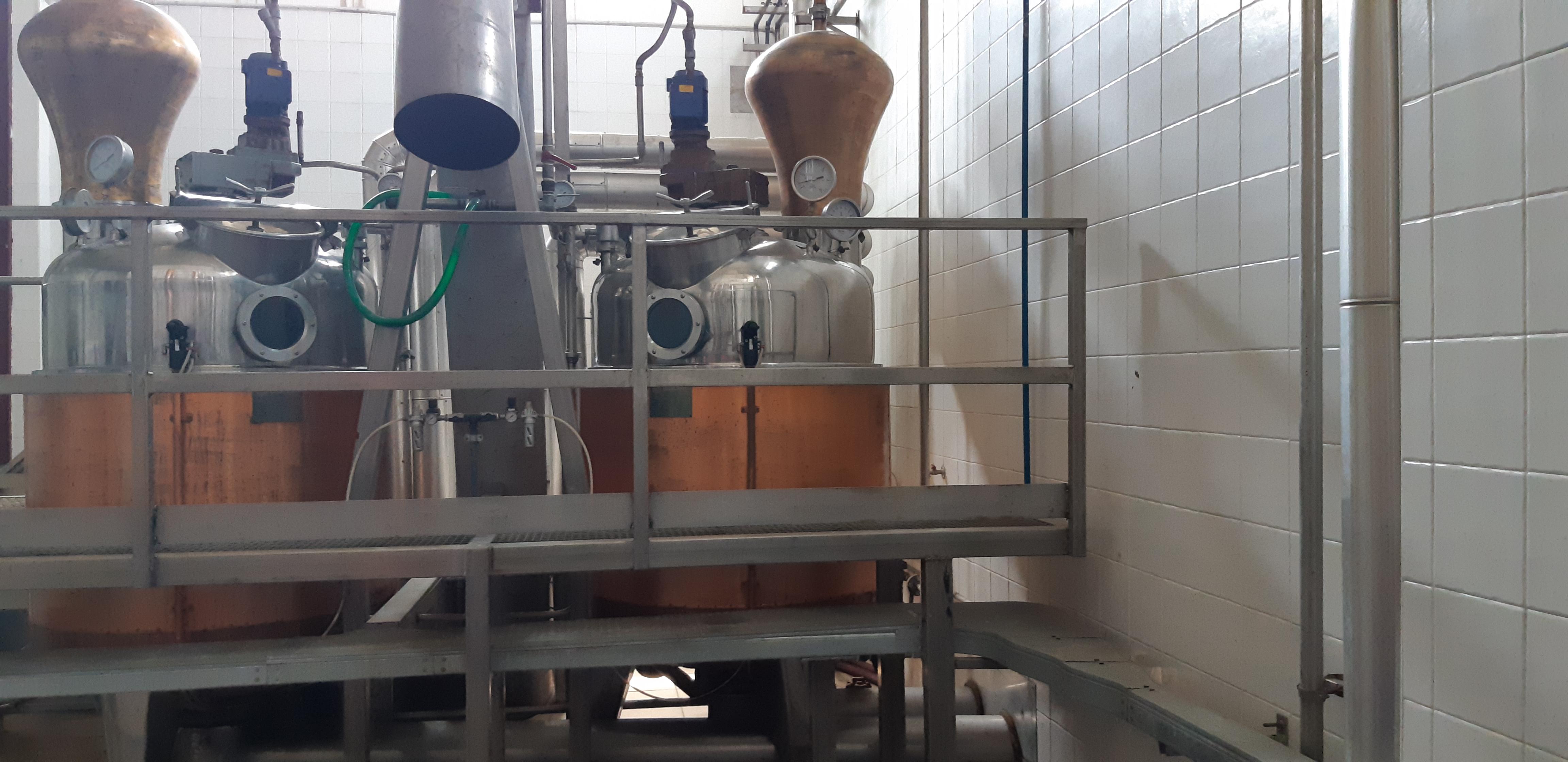 Impianto di distillazione in vendita - foto 1