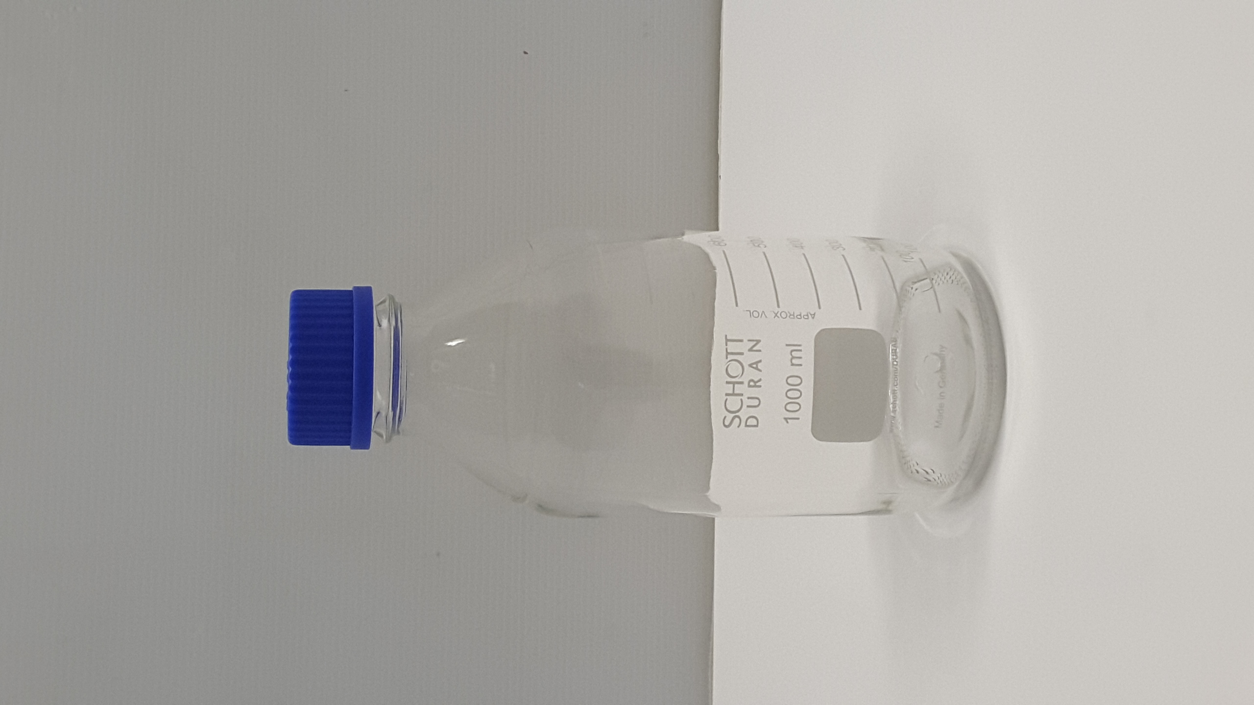 Stock contenitori da laboratorio in Pyrex e polietilene in vendita - foto 1