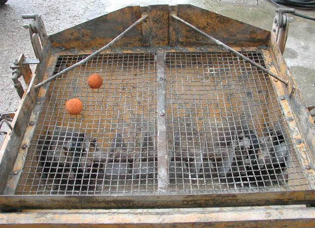 Pompa per calcestruzzo Bunker B2L8-10 in vendita - foto 4