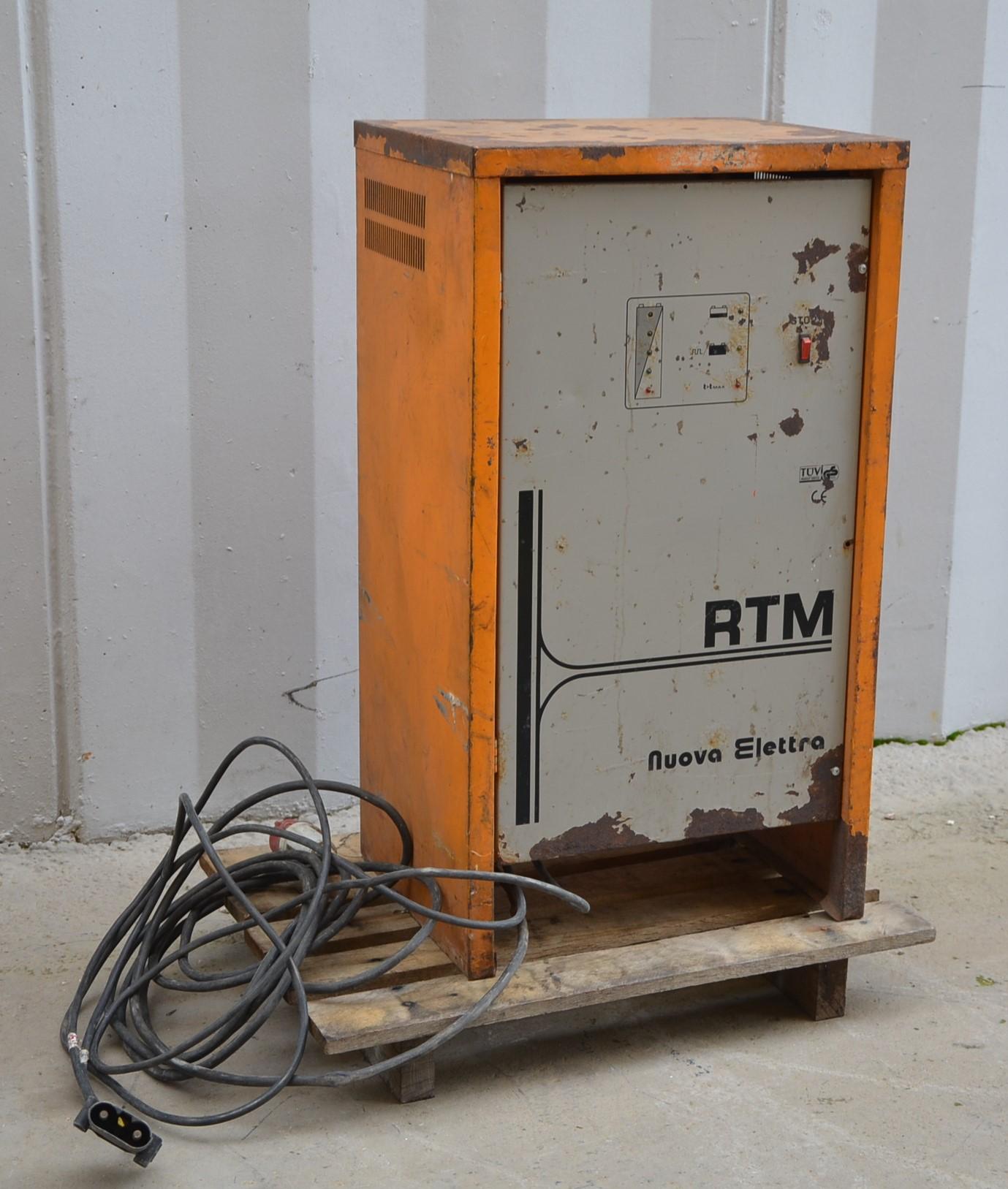 Caricabatterie 72V - Nuova Elettra mod. RTM TRIF. in vendita - foto 2