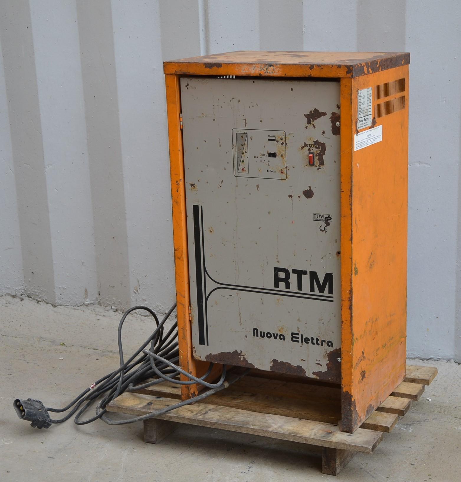 Caricabatterie 72V - Nuova Elettra mod. RTM TRIF. in vendita - foto 3
