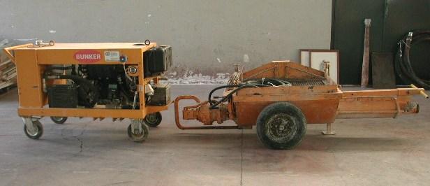 Pompa per calcestruzzo Bunker B2L8-10 in vendita - foto 5