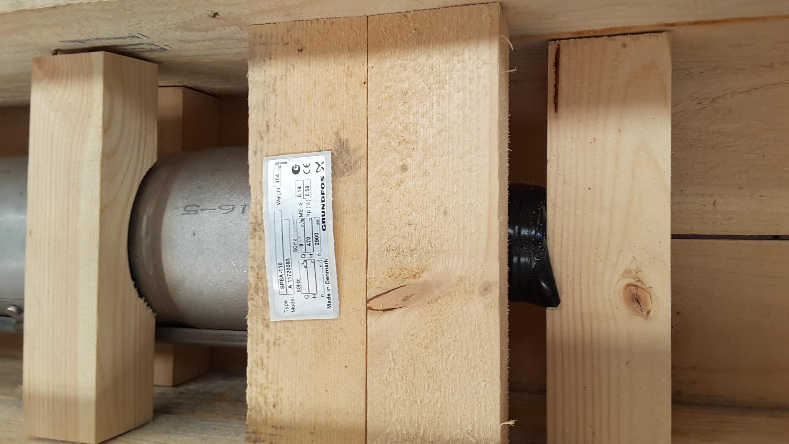 Pompa sommersa per pozzi - Grundfos in vendita - foto 2