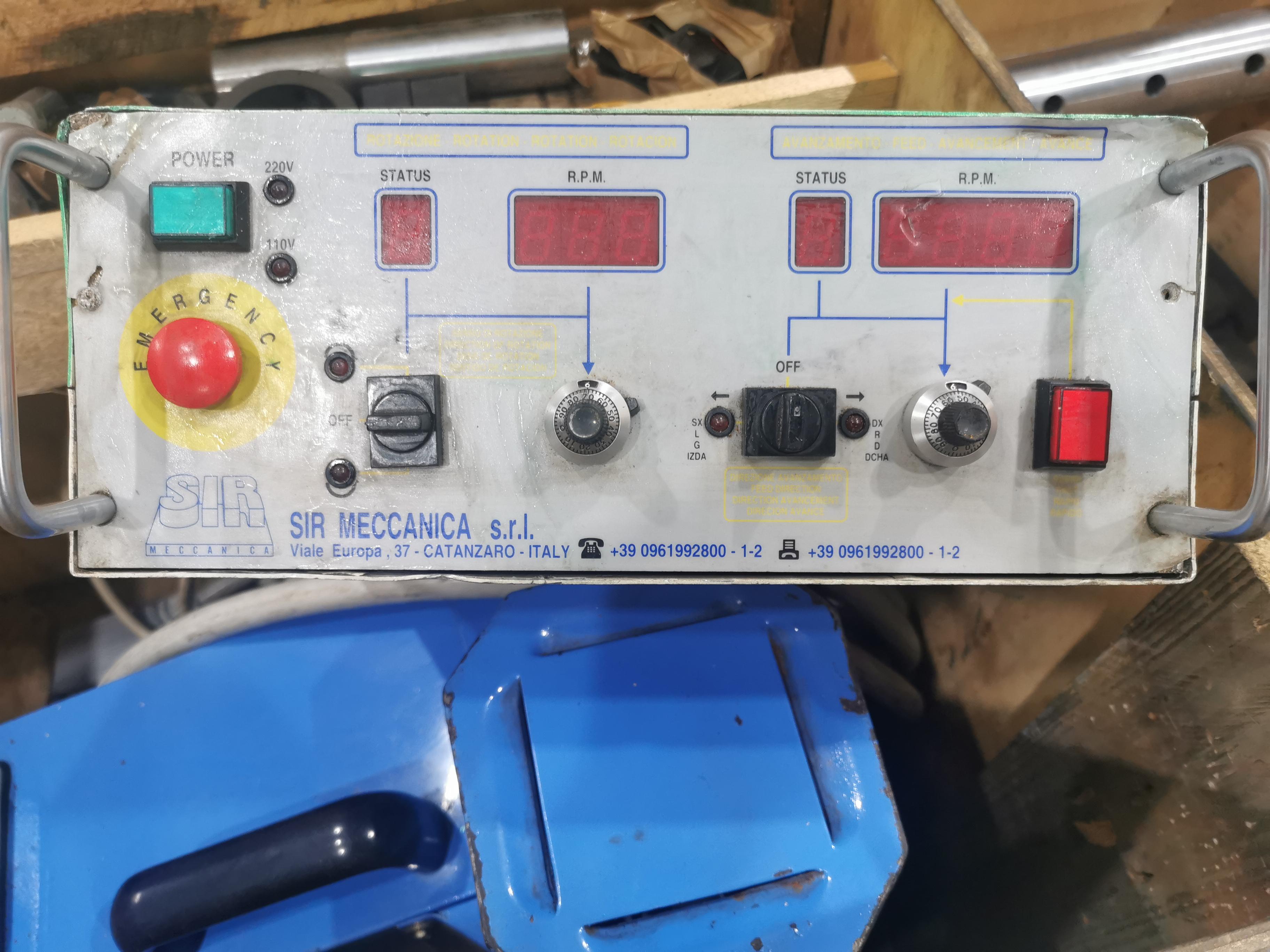 Barenatrice portatile sir meccanica ws3 in vendita - foto 2