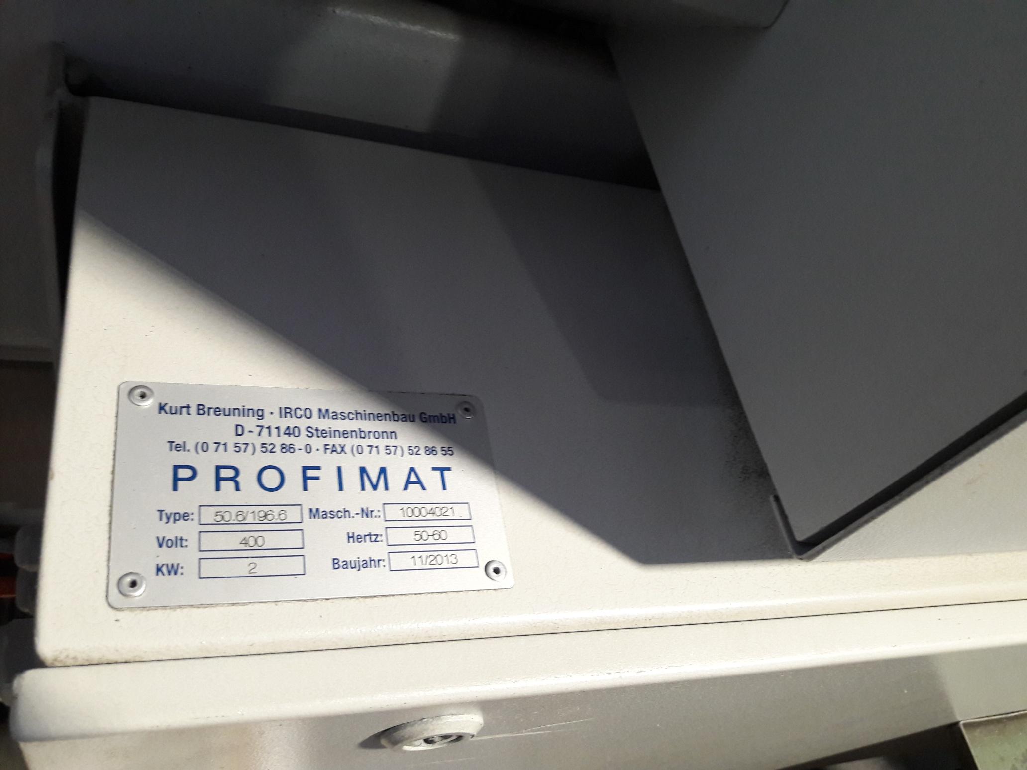Caricatore barre Profimat Irco 50.6 196/6 3m in vendita - foto 6