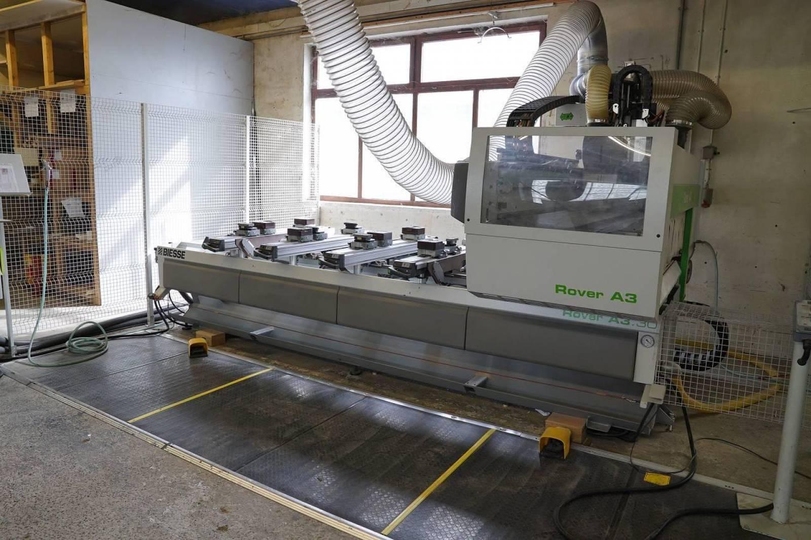 2008 BIESSE ROVER A 3.30 Centro di lavoro CNC in vendita - foto 2