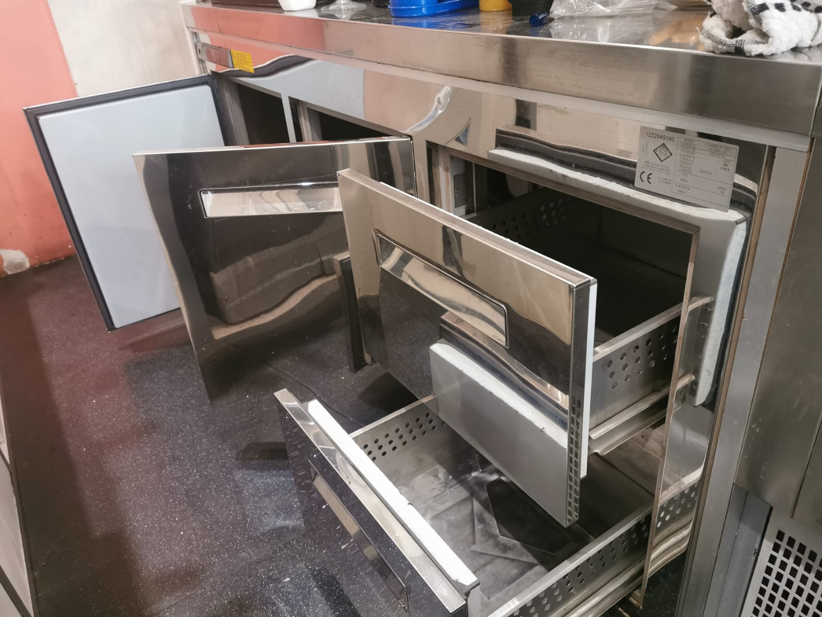 banco frigo 4 scomparti in vendita - foto 1