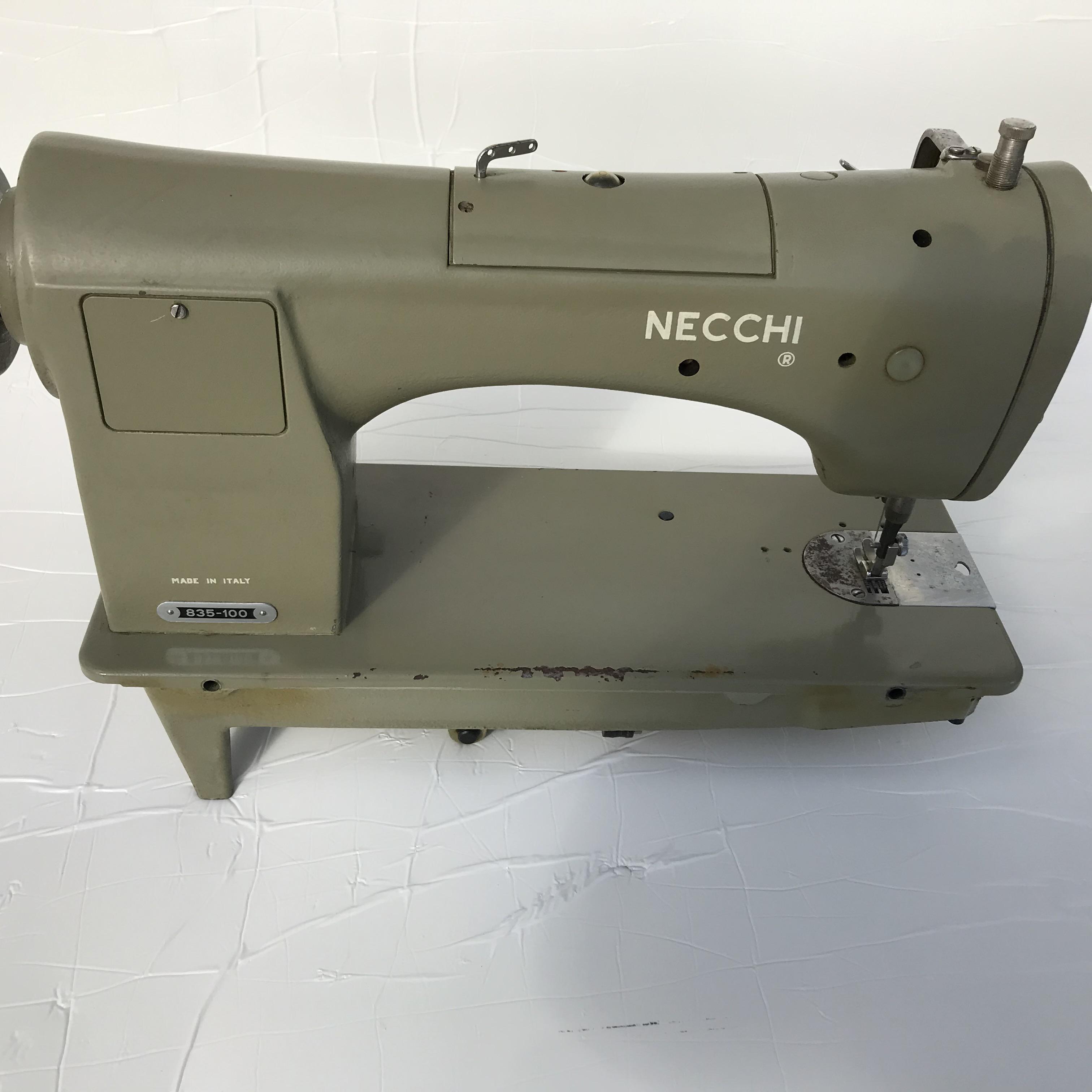 NECCHI 835-100 Macchina da cucire sartoria in vendita - foto 7