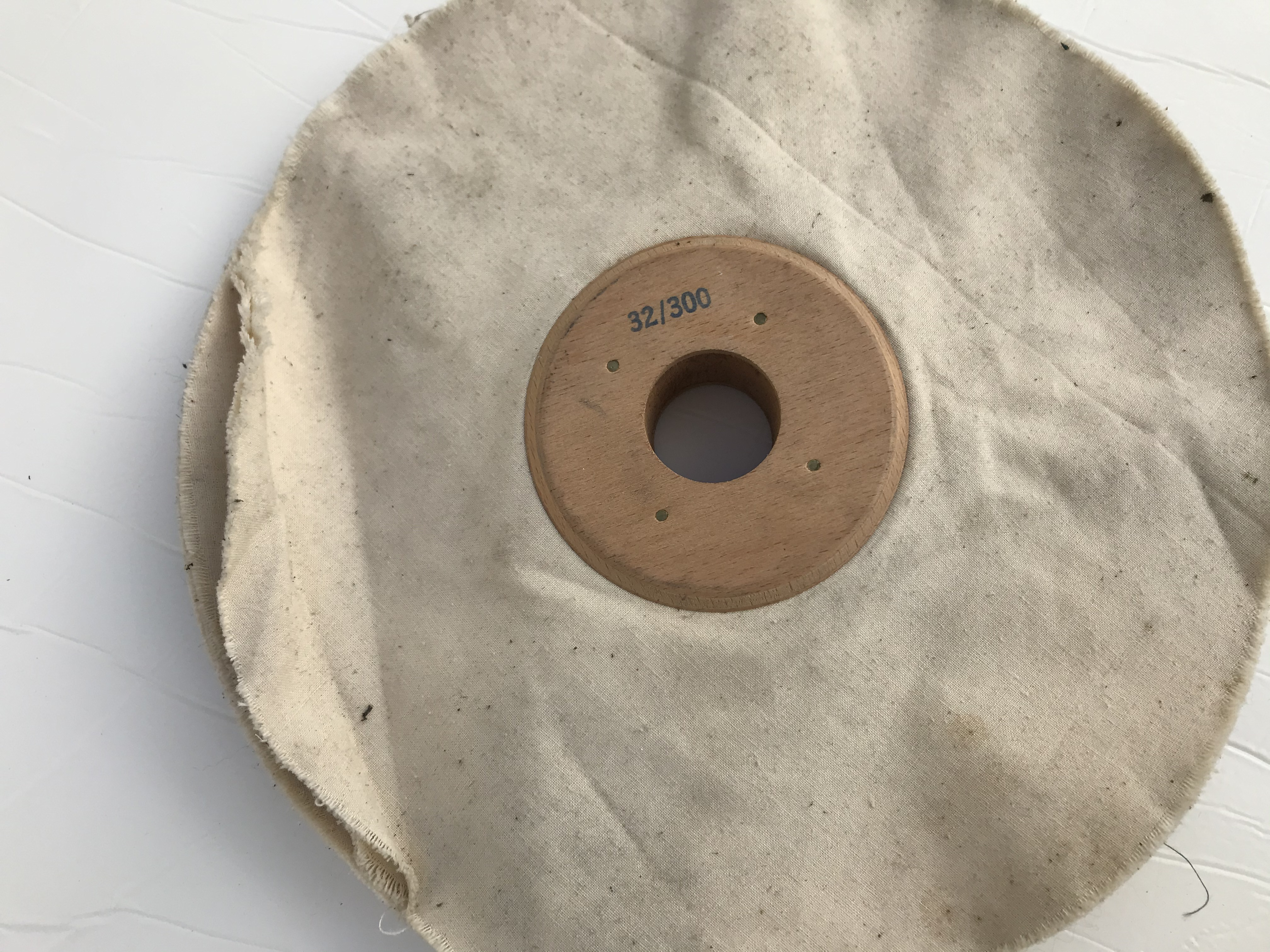 Spazzola per tomaie a dischi in tela – MM 32 in vendita - foto 2