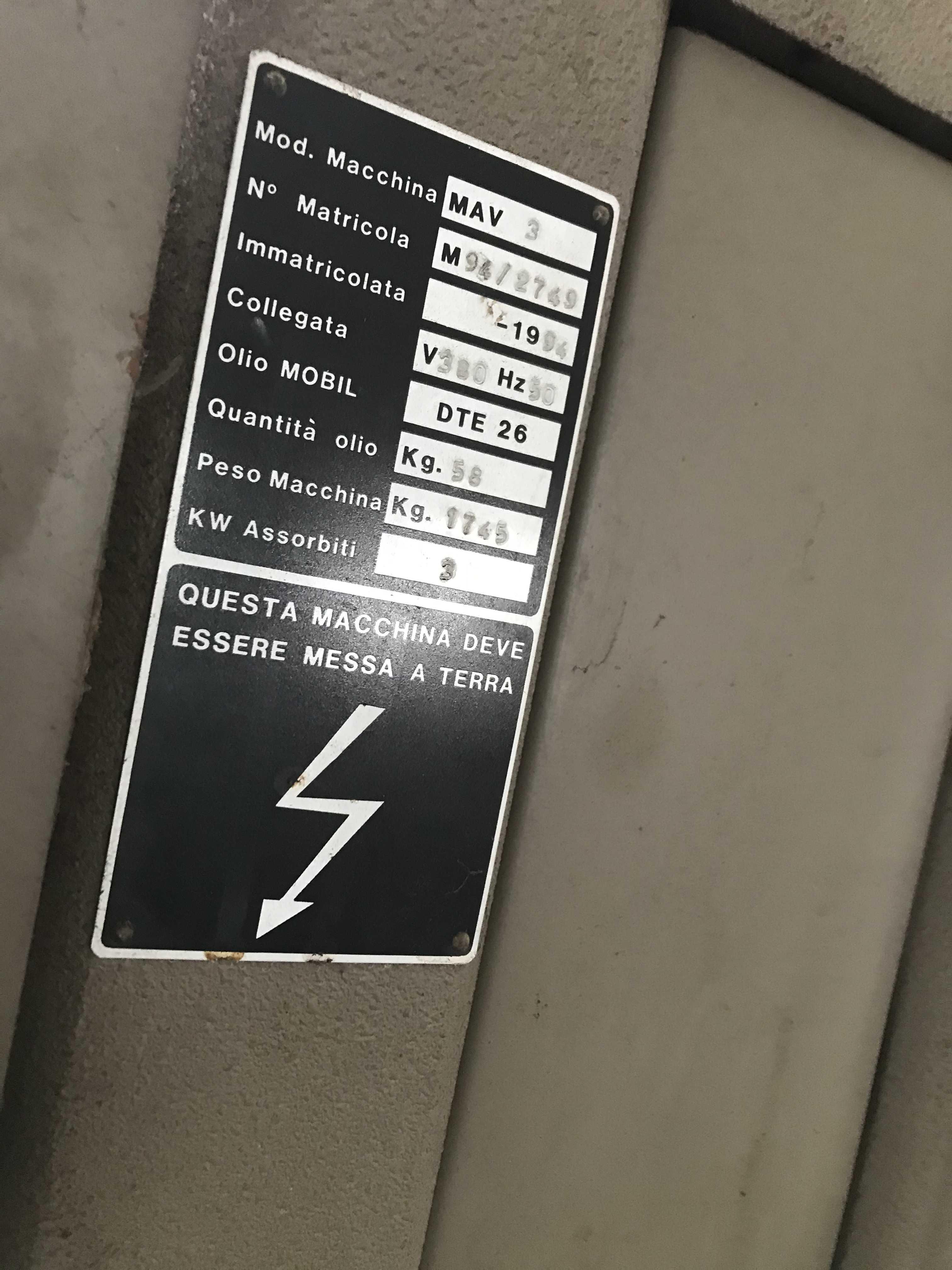 ALLEVI MAV3 Trancia a carrello in vendita - foto 5