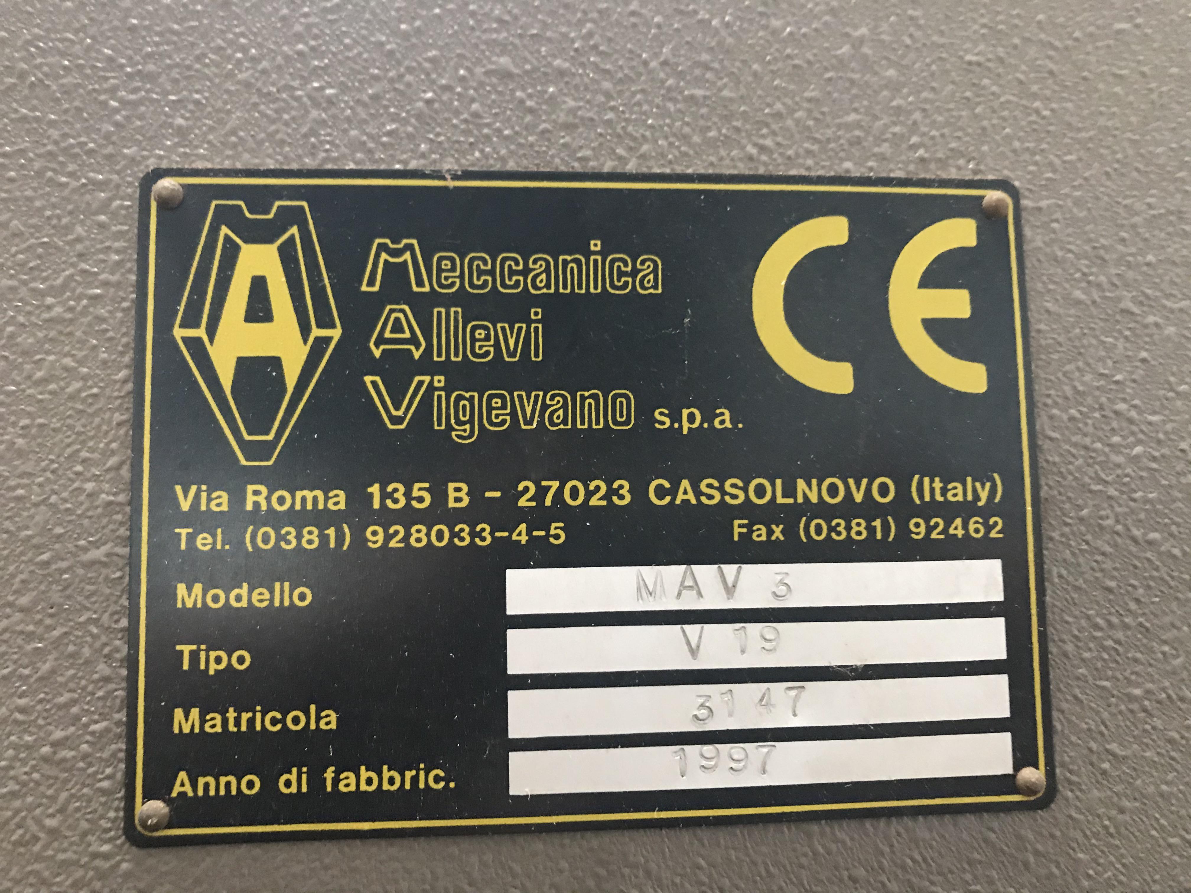 ALLEVI MAV3 Trancia a carrello in vendita - foto 3
