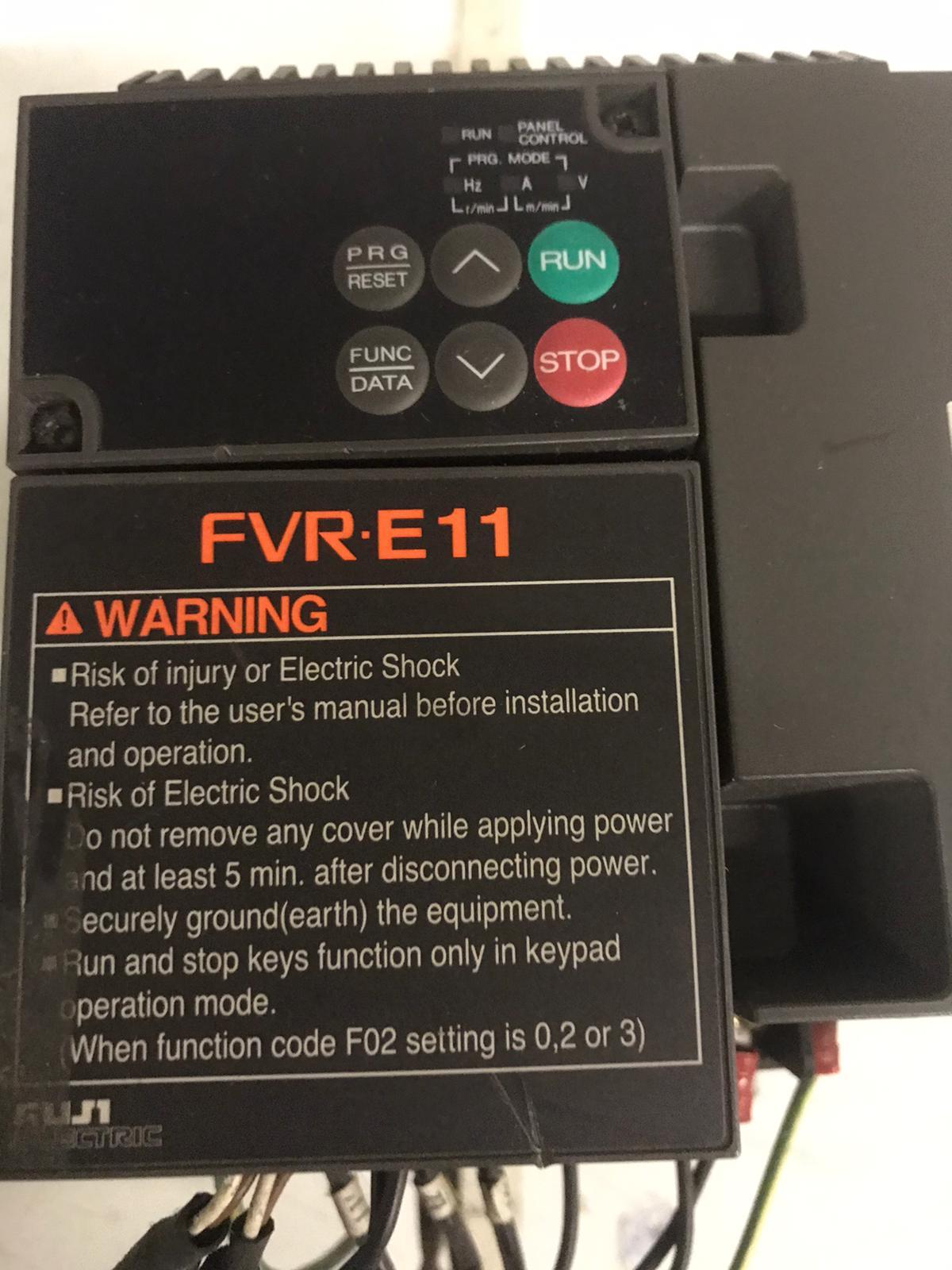 Inverter Frenic 11 kw FVR E11 VENDO in vendita - foto 3