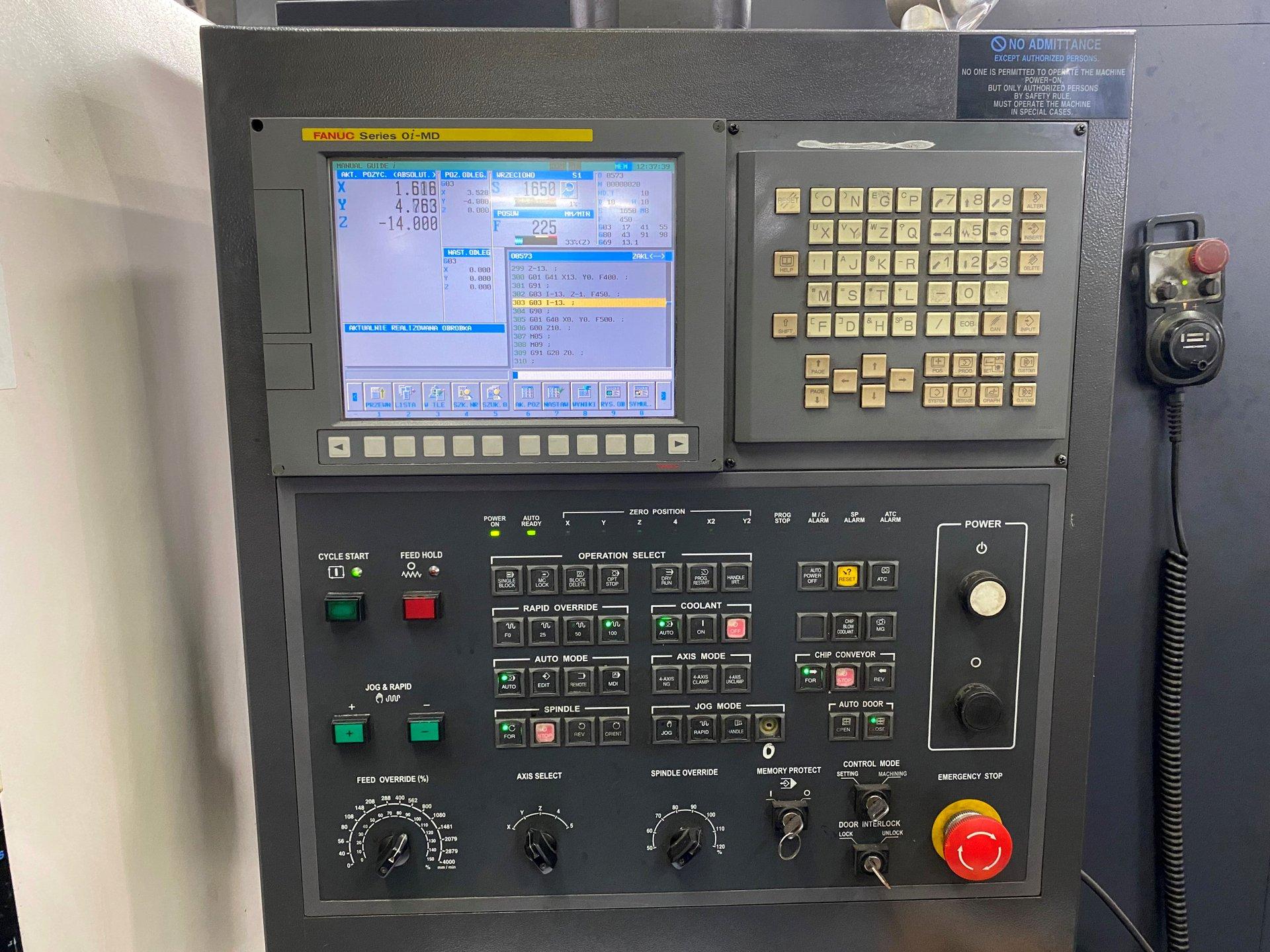 Centro di fresatura CNC HWACHEON VESTA 1050B 8 in vendita - foto 2