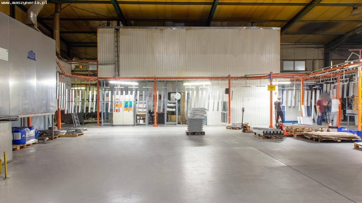 L'impianto di verniciatura a polvere MONKIEWICZ in vendita - foto 3