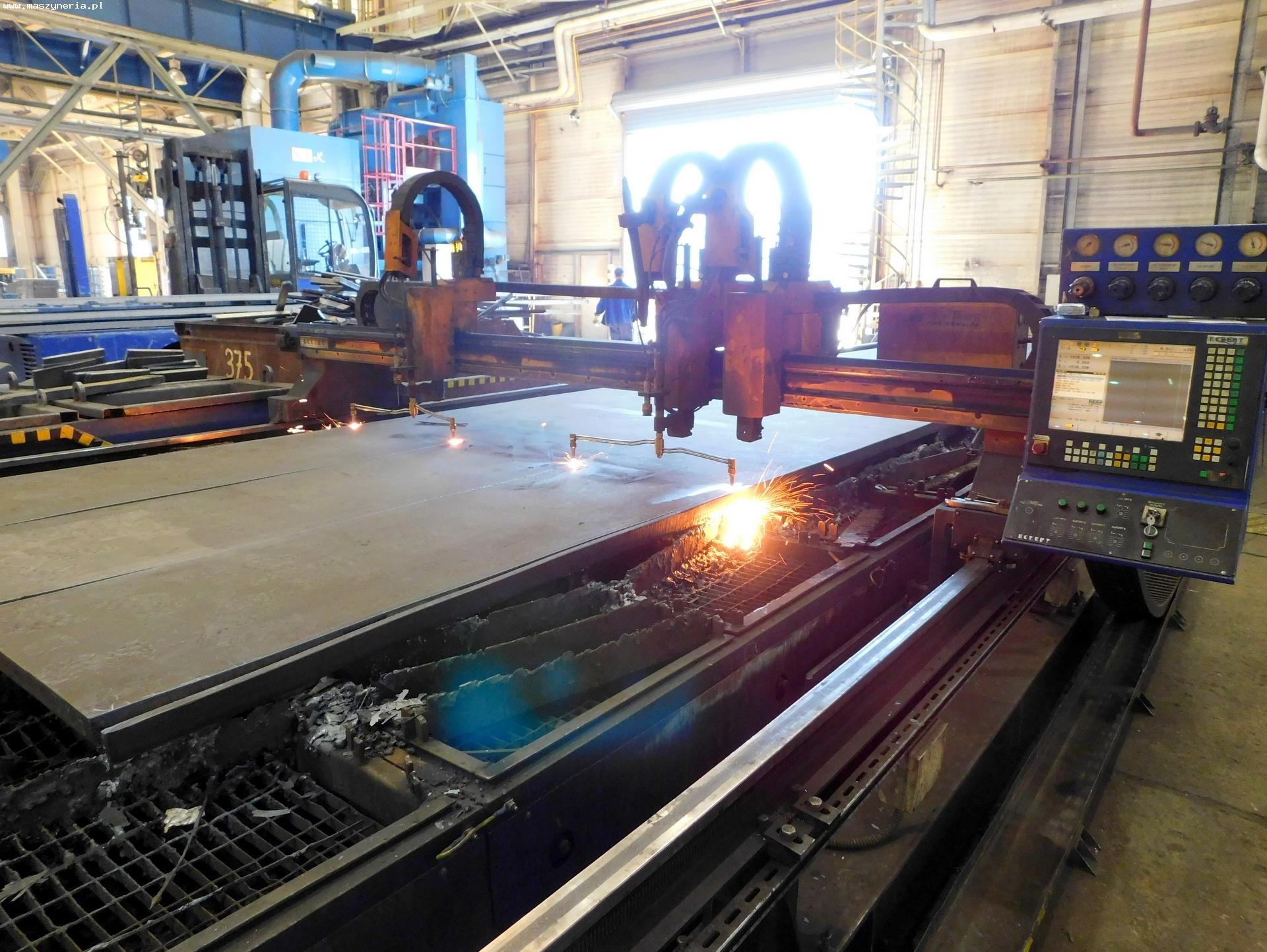Impianto taglio plasma e ossitaglio ECKERT JANTAR 2 in vendita - foto 1