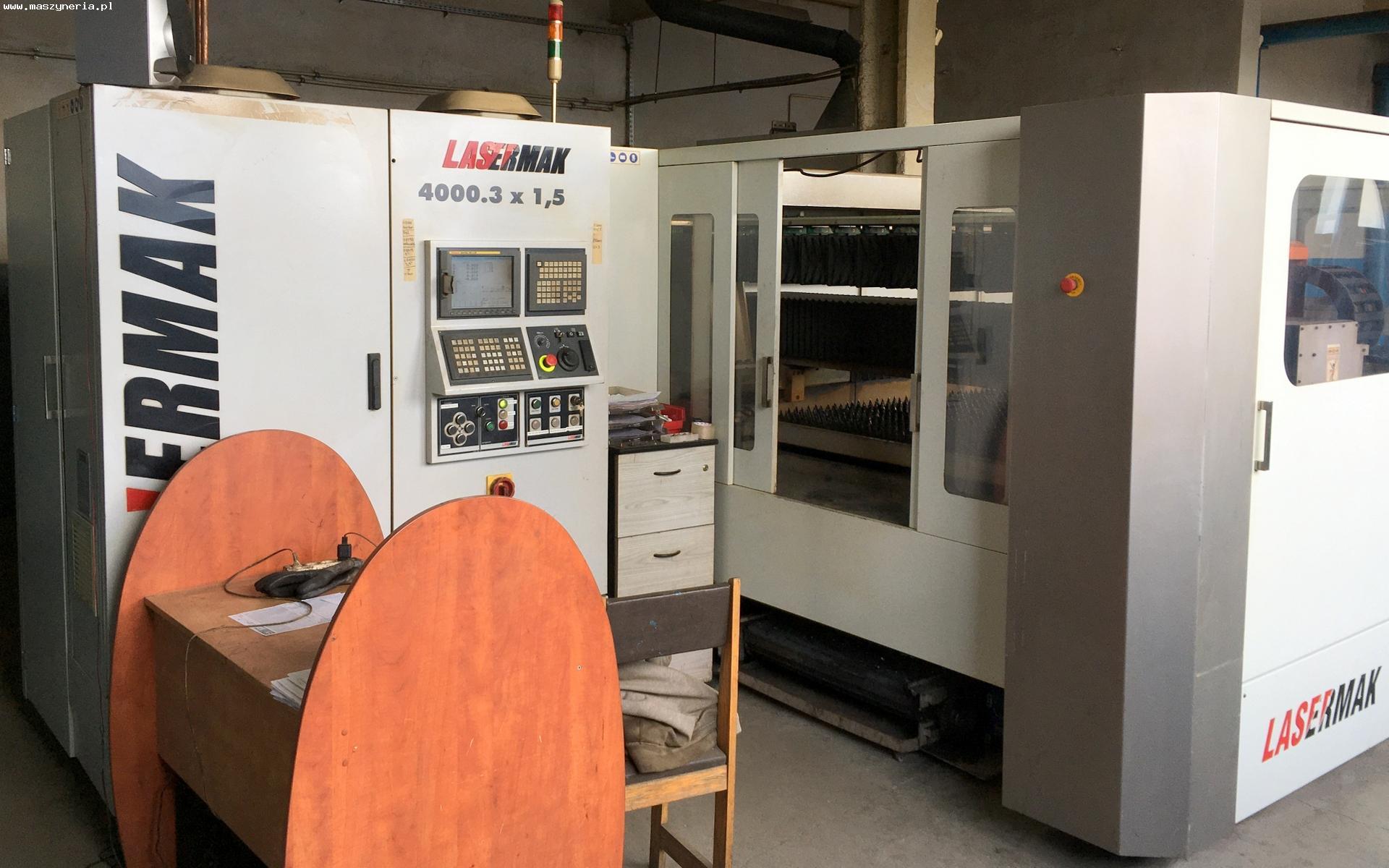 Macchina taglio laser ERMAKSAN LASERMAK 4000,3 x 1,5 in vendita - foto 1